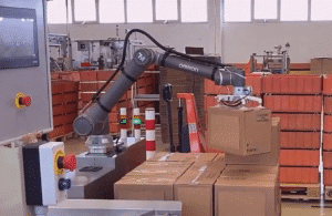 Automated palletizing with OMRON Cobots